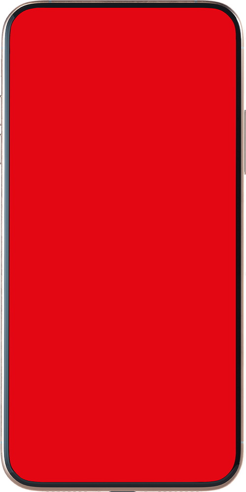 Red-screen phone