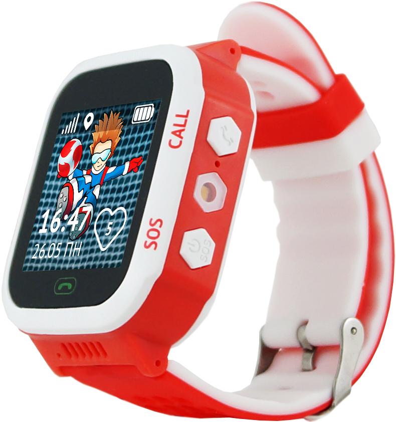 Детские часы Кнопка Жизни Aimoto Start Red