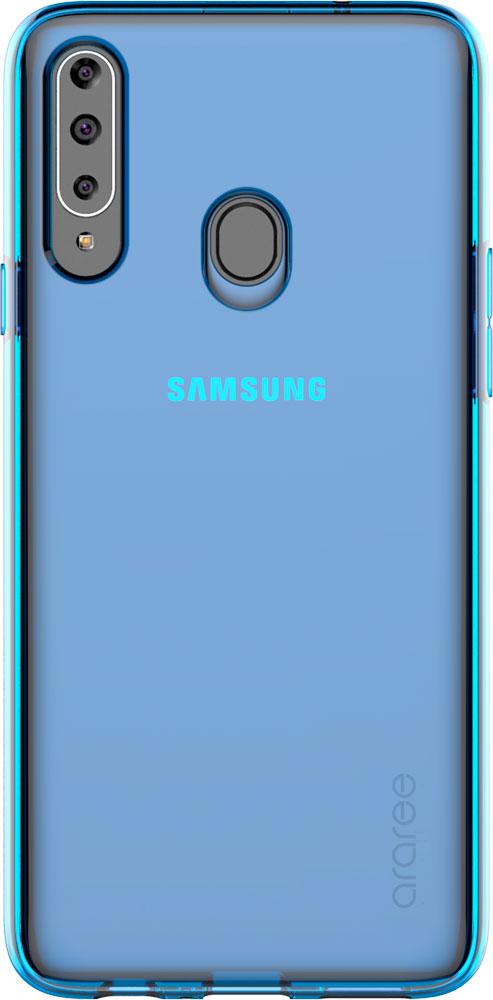 Клип-кейс Araree Galaxy A20s A cover Blue (GP-FPA207KDALR) фото