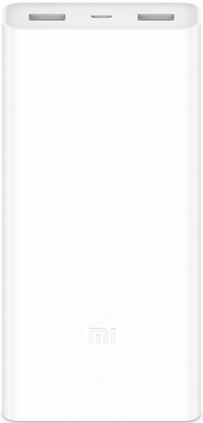 Внешний аккумулятор Xiaomi Mi Power 2С 20000 mAh Quick Charge 3.0 White аккумулятор yoobao sunrise power bank 7800 mah yb 633 white