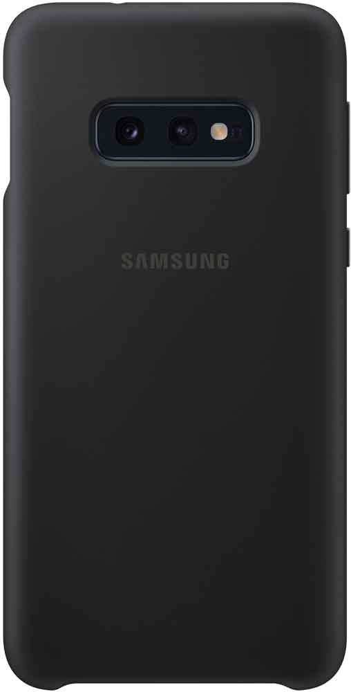 Клип-кейс Samsung Galaxy S10e TPU EF-PG970T Black клип кейс samsung galaxy s10e ef vg970l кожа black