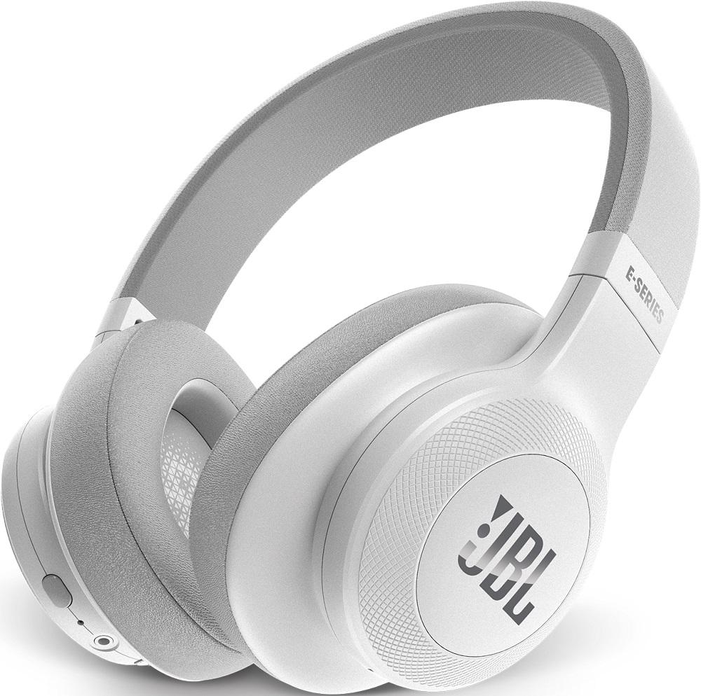 Беспроводные наушники JBL Bluetooth E55BT накладные white наушники накладные sol republic tracks hd white 1241 02