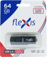 фото USB Flash FLEXIS RB-103 64GB USB2.0 Black