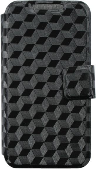 """Чехол-книжка OxyFashion SlideUP Cube универсальный размер S 3,5-4,3"""" Black"""