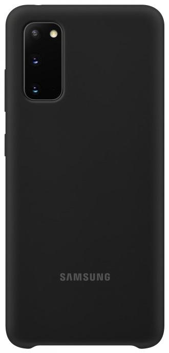 Клип-кейс Samsung Galaxy S20 силиконовый Black (EF-PG980TBEGRU) смартфон samsung galaxy s20 plus 128gb black