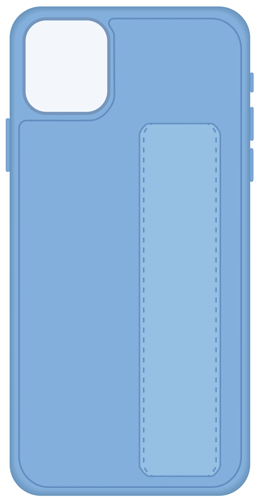 Клип-кейс LuxCase iPhone 11 Pro с подставкой Light Blue