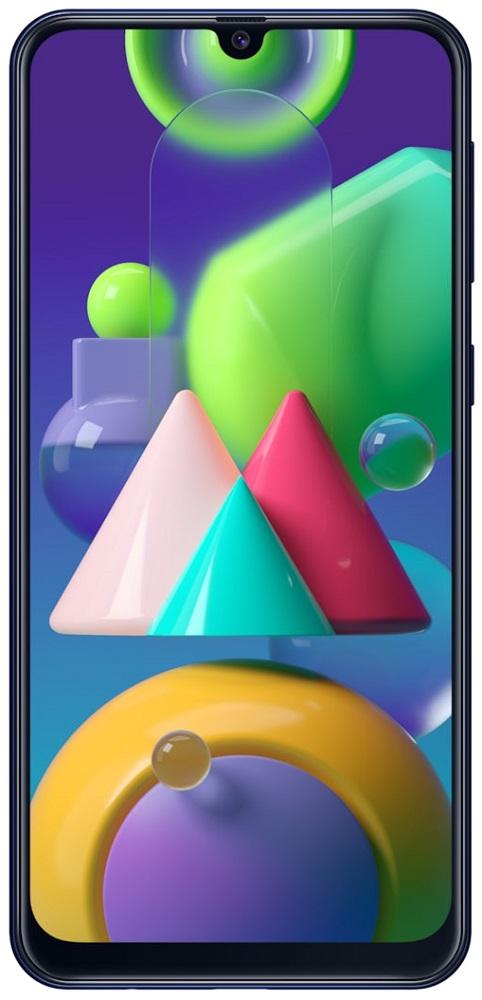 Смартфон Samsung M215 Galaxy М21 4/64Gb Blue фото