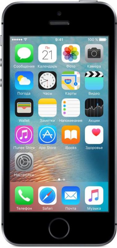 Смартфон Apple iPhone SE 16Gb Как новый Grey