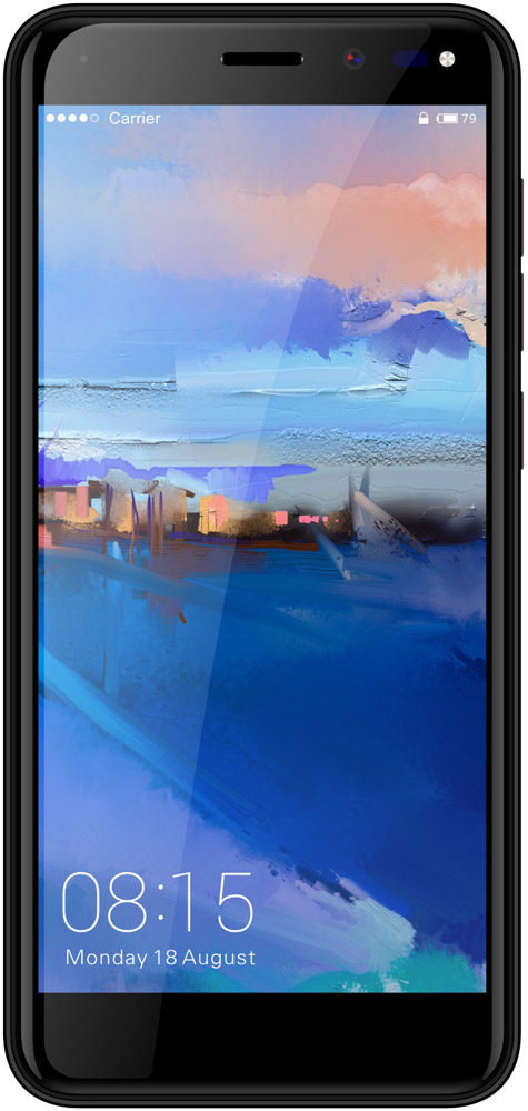 Смартфон Bright&Quick 5015L First 8Gb Black фото