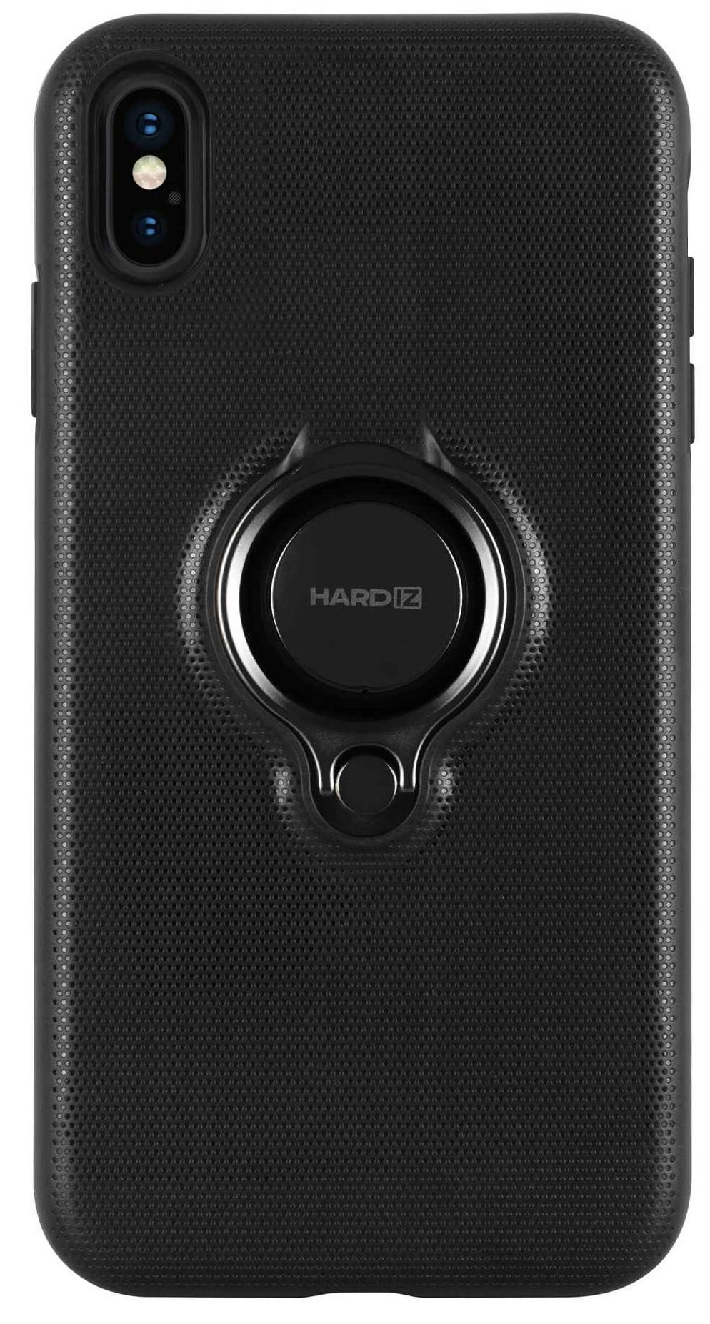 Фото - Клип-кейс Hardiz для Apple iPhone XS Max Urban с кольцом Black объектив