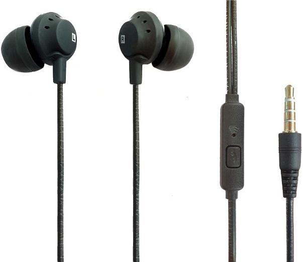 Наушники с микрофоном Dafen EX95 Black фото