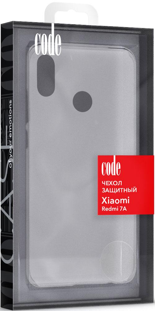 Клип-кейс Code Xiaomi Redmi 7A силикон прозрачный все цены