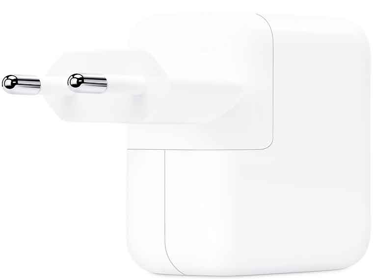 СЗУ Apple 30W USB-C Power Adapter MR2A2ZM/A White адаптер питания apple 61w usb c power adapter мощностью 61 вт mnf72z a