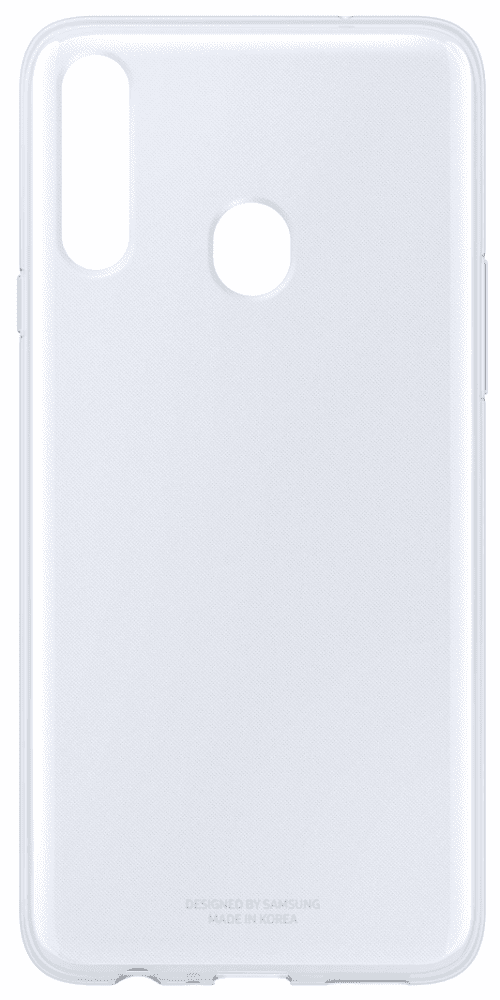 Клип-кейс Samsung, A20s Clear Cover прозрачный (EF-QA207TTEGRU)