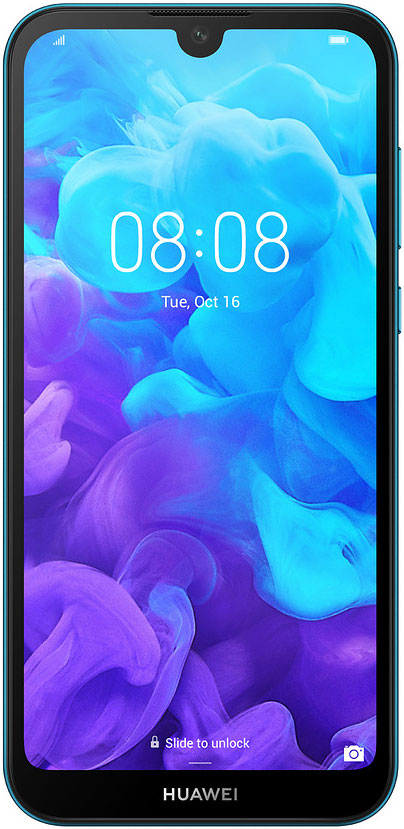 Смартфон Huawei Y5 2019 2/16Gb Blue смартфон huawei mate 20 t045340 midnight blue