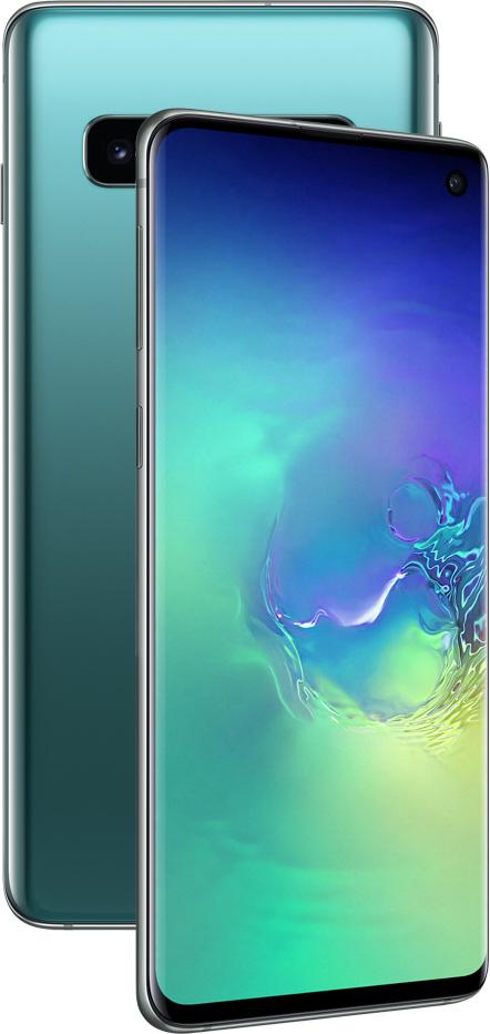 Смартфон Samsung G973 Galaxy S10 8/128Gb Аквамарин фото