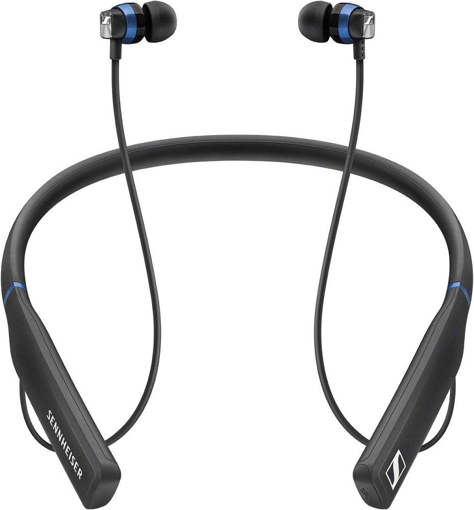 Беспроводные наушники с микрофоном Sennheiser CX 7.00 Black беспроводные наушники sennheiser pxc 550 wireless black silver