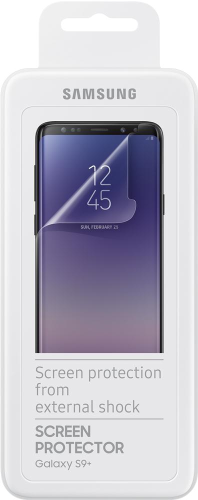 лучшая цена Пленка защитная Samsung Galaxy S9 Plus ET-FG965CTEGRU прозрачная