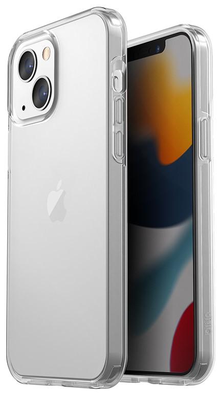 Клип-кейс Uniq iPhone 13 Anti-microbial прозрачный фото 2