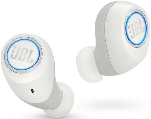 цены на Беспроводные наушники с микрофоном JBL Free беспроводные White  в интернет-магазинах