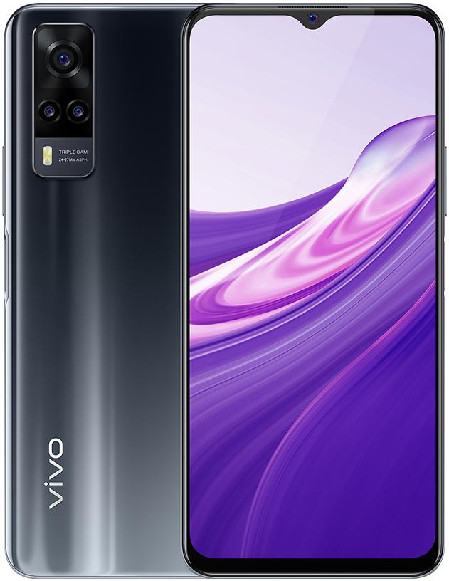 Смартфон Vivo Y31 4/128Gb Black