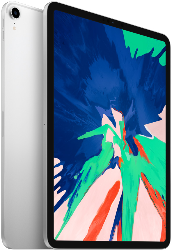 Планшет Apple iPad Pro 2018 Wi-Fi 11 512Gb Silver (MTXU2RU/A) fashion 360 rotating case for ipad pro 12 9 inch litchi leather stand back cover apple fundas