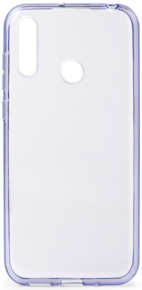 Клип-кейс Gresso Honor 10i прозрачный Purple цена и фото