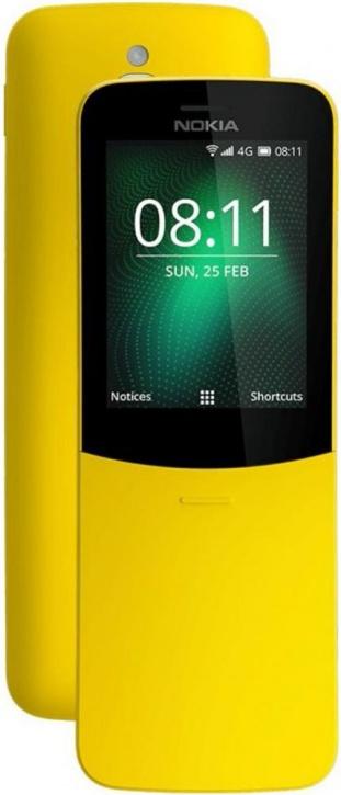 Мобильный телефон Nokia 8110 Dual sim Yellow фото