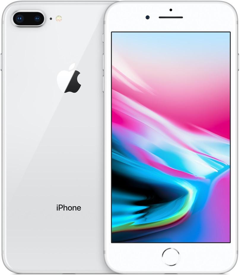 Смартфон Apple iPhone 8 plus 128Gb Silver (Серебристый) цена и фото
