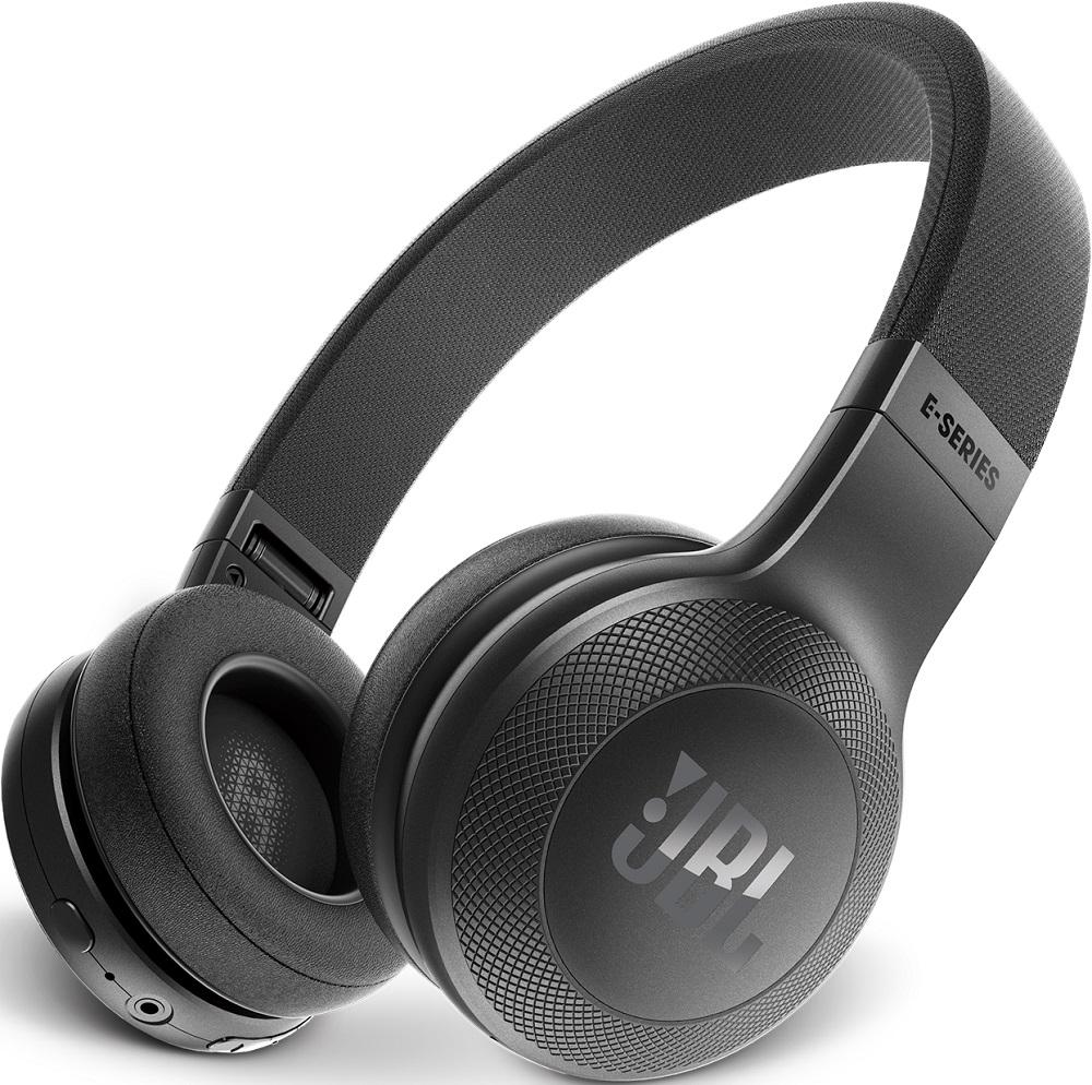 Беспроводные наушники с микрофоном JBL E45BT накладные Black