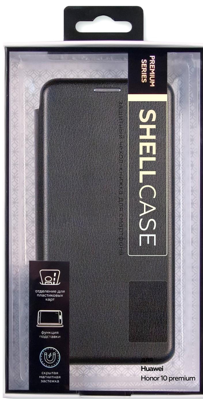 Чехол-книжка Smarterra ShellCase для Honor 10 black аксессуар чехол для honor 10 brosco silicone black hw h10 newtpu black