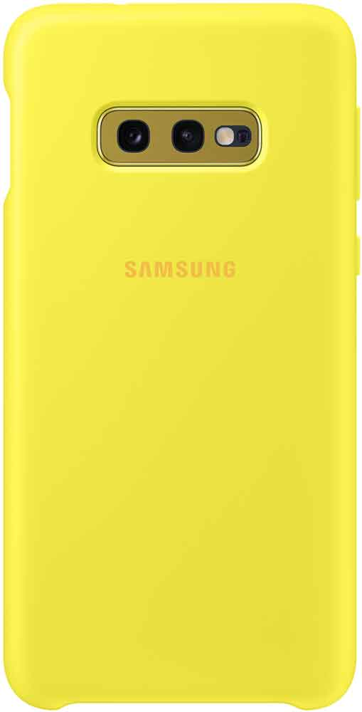 Клип-кейс Samsung Galaxy S10e TPU EF-PG970T Yellow клип кейс samsung dual layer ef pj330 для galaxy j3 2017 голубой