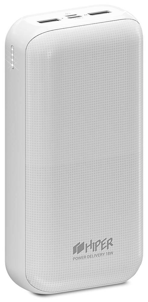 Внешний аккумулятор HIPER RPX30000 30000mAh c функцией QC White фото