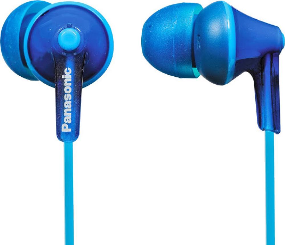 Наушники Panasonic RP-HJE125E-A Blue наушники затычки panasonic rp hje125e v фиолетовый