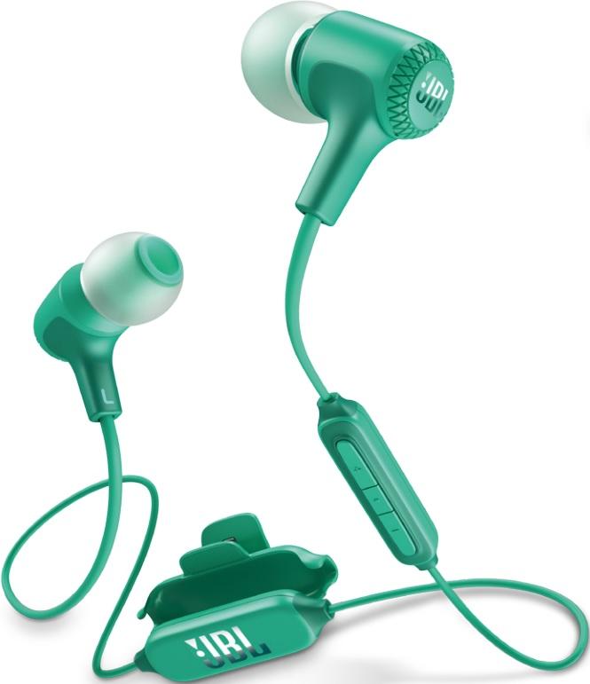 Беспроводные наушники с микрофоном JBL Bluetooth E25BT Turquoise беспроводные наушники jbl bluetooth e25bt blue