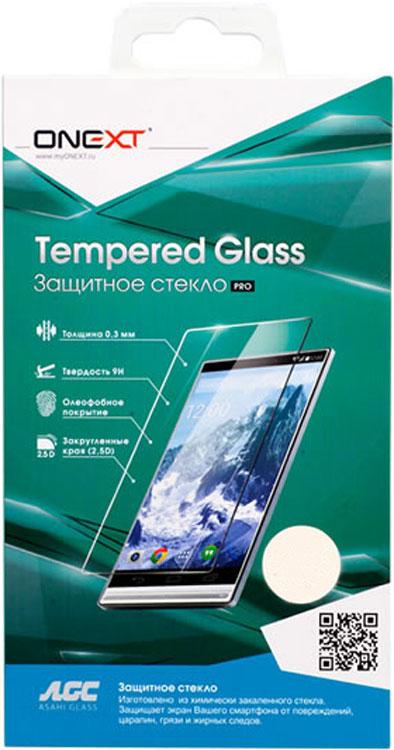 Стекло защитное Onext Senseit A250 прозрачное аксессуар защитное стекло для senseit r500