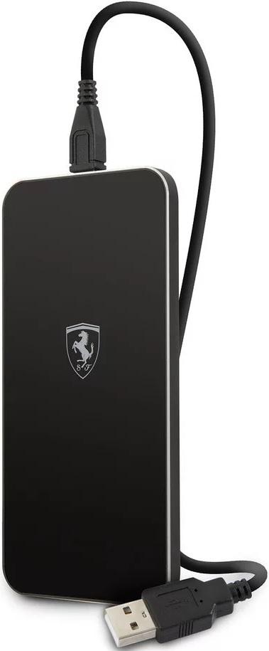 Фото - Беспроводное зарядное устройство Ferrari Wireless Black беспроводное зарядное устройство spigen essential f302w wireless черный