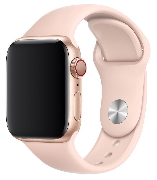 Ремешок для умных часов Everstone ES-AWBS-206 Apple Watch 42/44мм силиконовый Pink фото