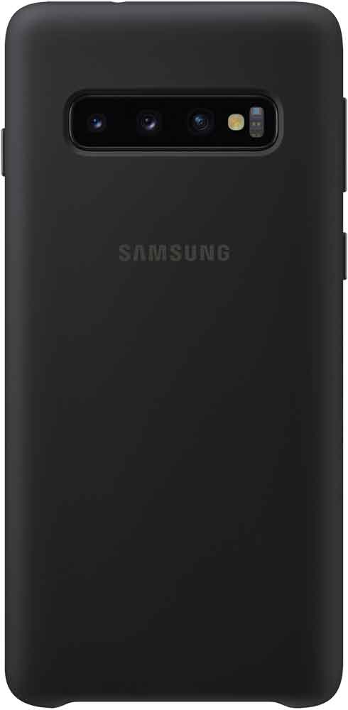 Клип-кейс Samsung Galaxy S10 TPU EF-PG973TBEGRU Black клип кейс samsung galaxy s10 led ef kg973c black