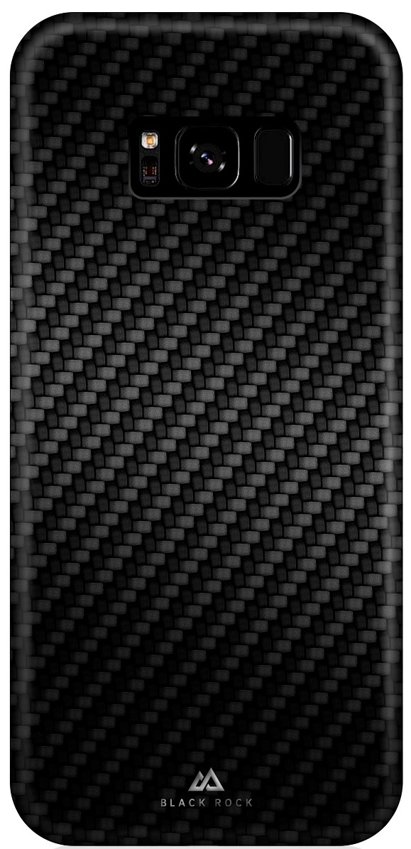 Клип-кейс Black Rock для Samsung Galaxy S8 Plus карбон black клип кейс uniq samsung galaxy s10e black