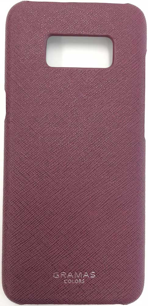 Клип-кейс Gramas Samsung Galaxy S8 сафьяно Burgundy burgundy zip side scoop neck sleeveless maxi dress