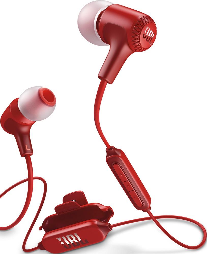 Беспроводные наушники JBL Bluetooth E25BT red