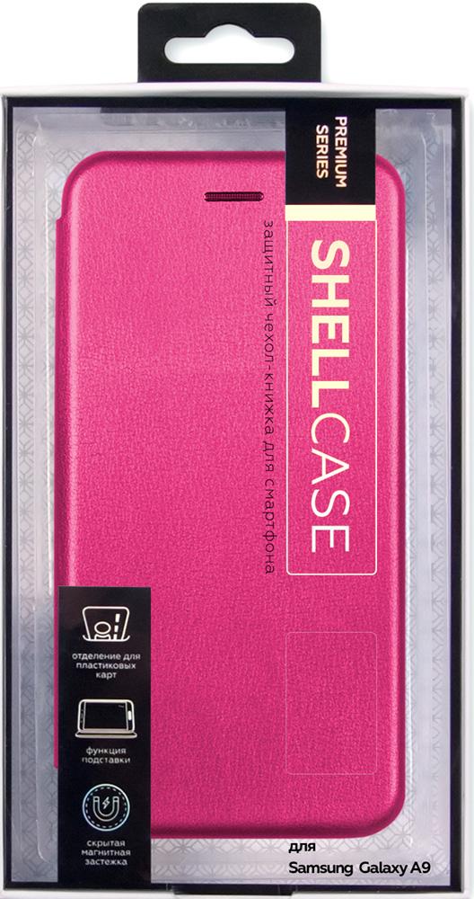 цена на Чехол-книжка Smarterra Samsung Galaxy A9 2018 Shell Pink