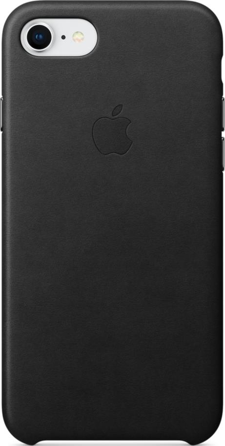 Клип-кейс Apple iPhone 8/7 кожаный Black