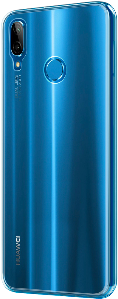 Клип-кейс Vipe Color Huawei P20 Lite прозрачный клип кейс deppa huawei y5 lite tpu прозрачный