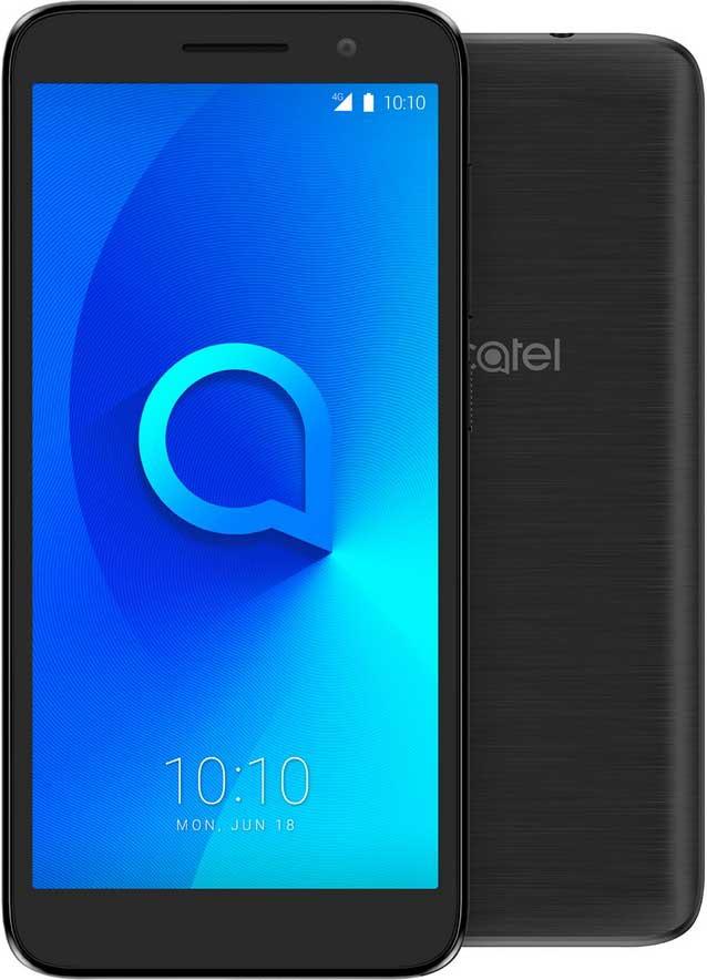 Смартфон Alcatel 1 5033D 8Gb Black смартфон alcatel 1 5033d 8 гб черный