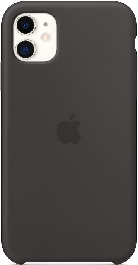 Клип-кейс Apple iPhone 11 MWVU2ZM/A силиконовый Черный фото