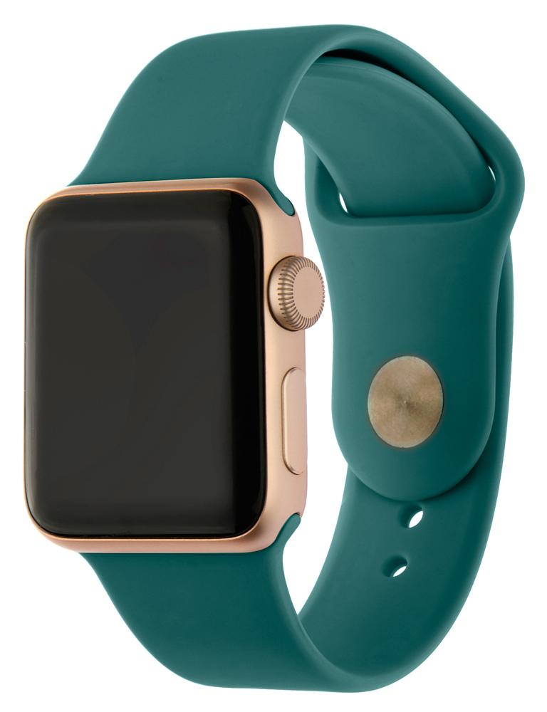 Ремешок для умных часов InterStep Sport Apple Watch 42/44мм силиконовый Green фото