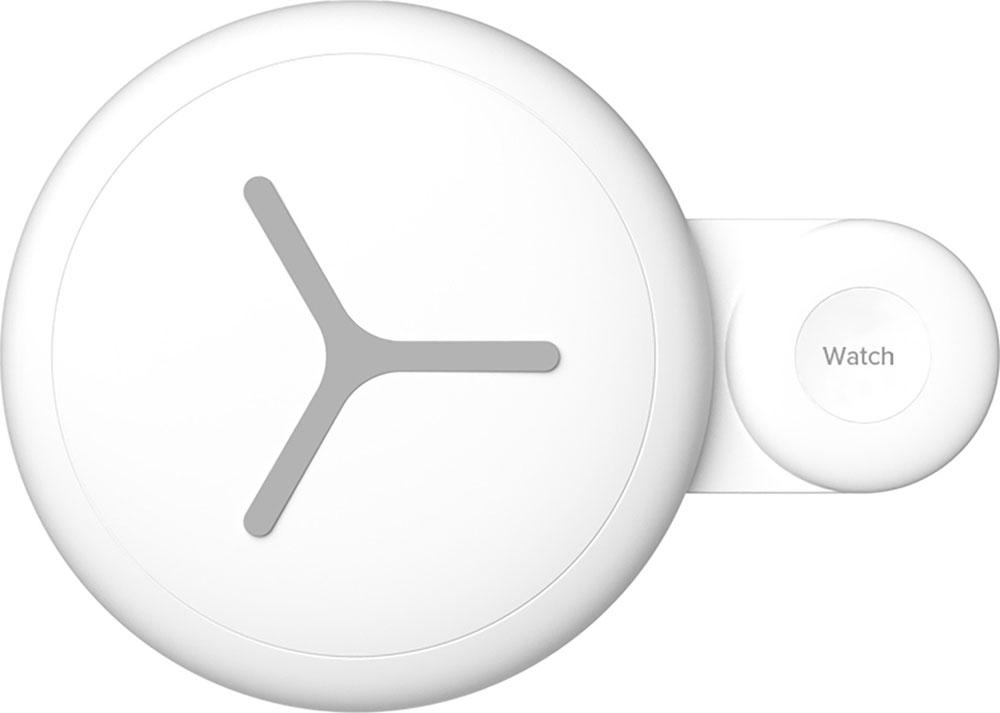 Беспроводное зарядное устройство LYAMBDA для телефона и часов LNT7A-WT White фото