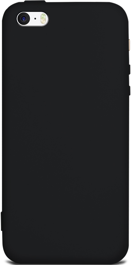 цена Клип-кейс Gresso Apple iPhone 5/SE TPU Black